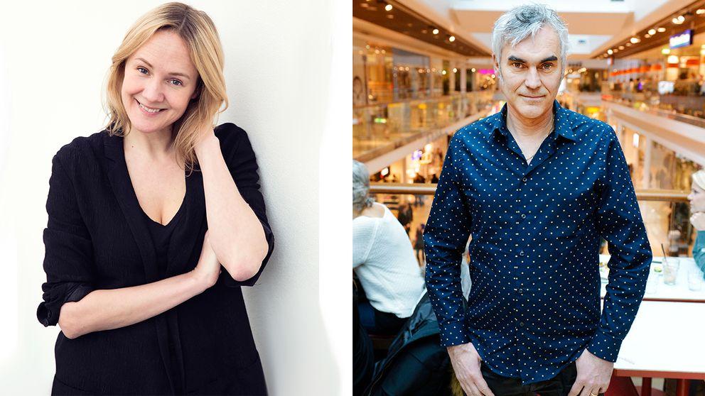 Lina Thomsgård och Kristofer Lundström