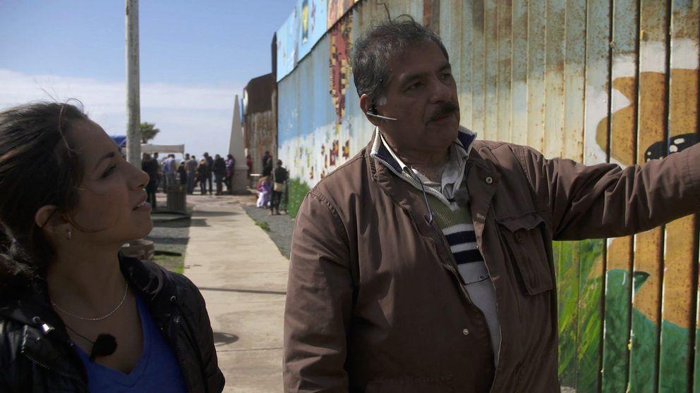Khazar Fatemi möter människor som lever kring gränsen mellan USA och Mexiko.