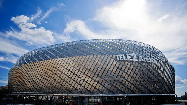 Tele2 Arena.