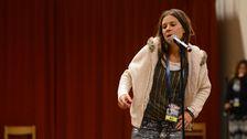 Caroline af Ugglas sjunger om att bli lämnad – precis som hon gjorde i Melodifestivalen 2009.