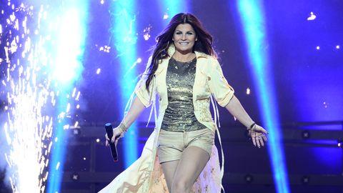 Carola i Melodifestivalen 2013.