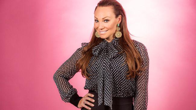 "Bild på Charlotte Perrelli, som sjunger ""Mitt liv"" i Melodifestivalen2017."