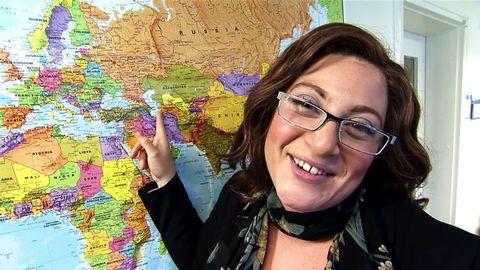 Sarah Dawn Finer är Linda Woodruff i Melodifestivalen 2012