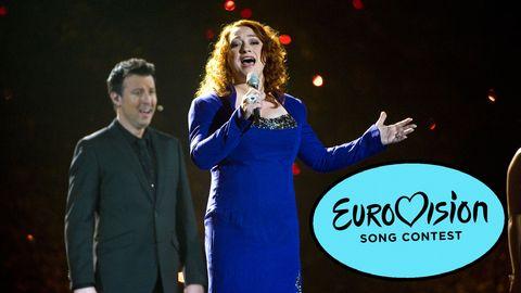 Eurovision-vinnaren från Irland 1993 i ESC 2010.