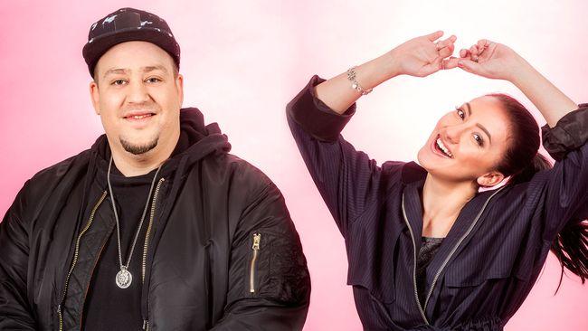Debutanterna Nano och Adrijana i Melodifestivalen 2017