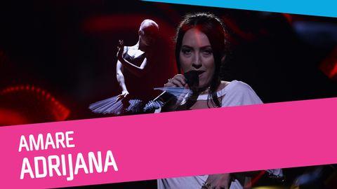 Adrijana sjunger Amare i Melodifestivalen 2017