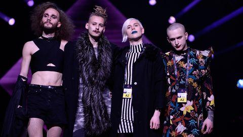 Dismissed under scenrepetitionerna inför Melodifestivalen 2017.
