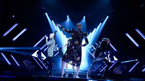 Dismissed repeterar inför Melodifestivalen 2017.