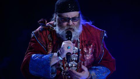 """Roger Pontare sjunger """"Himmel och hav"""" i Melodifestivalen 2017."""