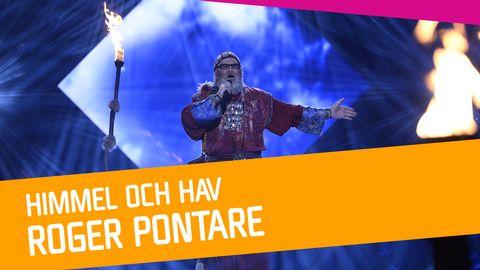 """Se Roger Pontare sjunga """"Himmel och hav"""" i Melodifestivalen 2017."""