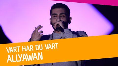 """Se Allyawan sjunga """"Vart har du vart"""" i Melodifestivalen 2017."""