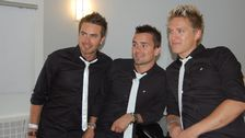 "Erik Segerstedt i gruppen EMD som deltog i Melodifestivalen 2013 med låten ""Baby Goodbye""."