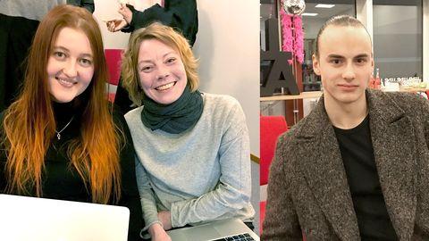 Maria Wallin, Jessica Dhyr och Emanuel Fröberg tycker till om veckans bidrag.