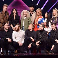 Artisterna i Melodifestivalens fjärde deltävling i Skellefteå 2017
