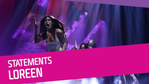 "Se Loreen sjunga ""Statements"" i Melodifestivalen 2017."