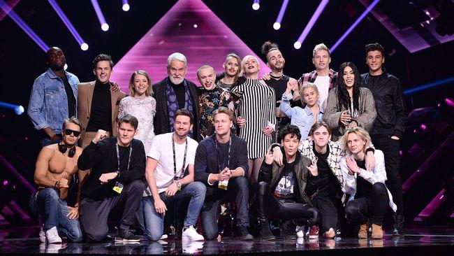 Resultado de imagen de Andra Chansen Melodifestivalen 2017