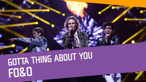 "Se FO&O sjunga ""Gotta Thing About You"" i Andra chansen."