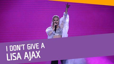 "Se Lisa Ajax sjunga ""I Don't Give A"" i Andra chansen."