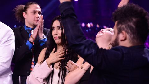 Loreen i fjärde deltävlingen i Melodifestivalen 2017.