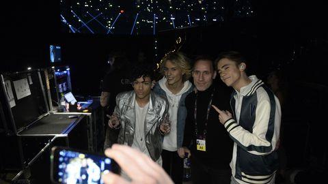 Bild på FO&O backstage