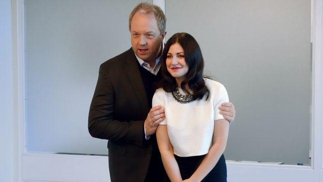 Anders Jansson och Nour El Refai ska leda Melodifestivalen 2014.