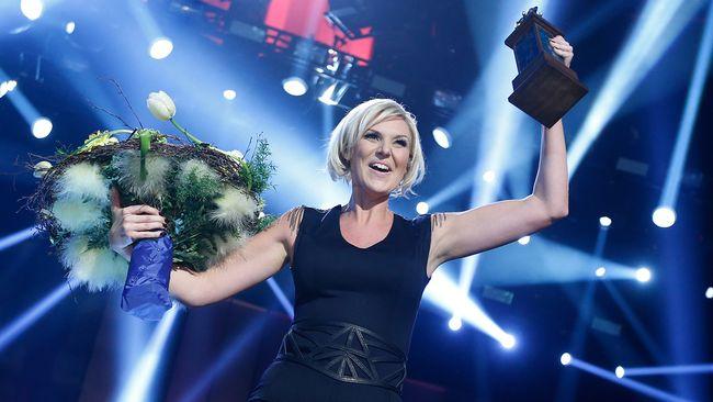 Sanna Nielsen vinner Melodifestivalen 2014 med Undo.