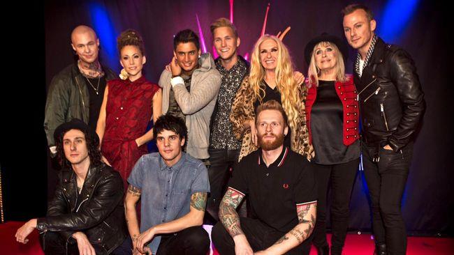 Artisterna i Meldofestivalens andra deltävling 2015