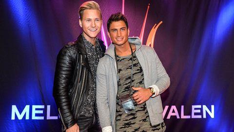 Samir och Viktor tävlar i Melodifestivalen 2015.