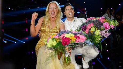 Jessica Andersson och Eric Saade är i final i Melodifestivalen 2015.