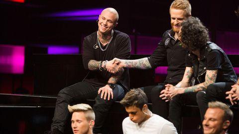 Linus Svenning vidare till Andra chansen Melodifestivalen 2015.