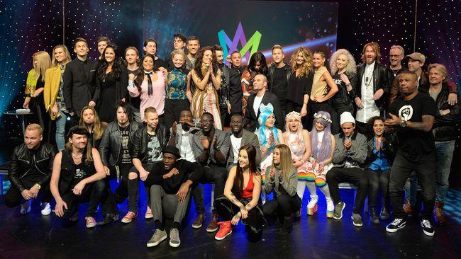 Artisterna i Melodifestivalen 2016