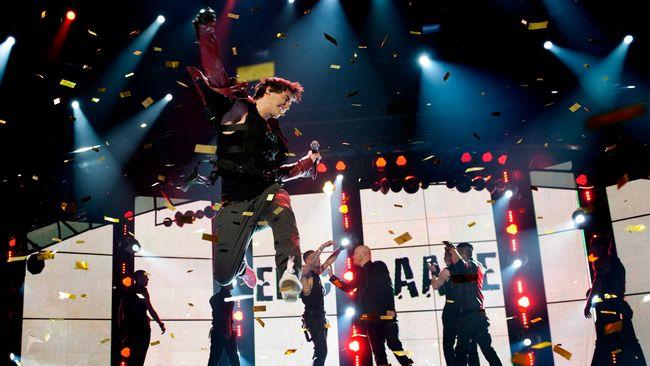 Eric Saade vann Melodifestivalen 2011 med låten