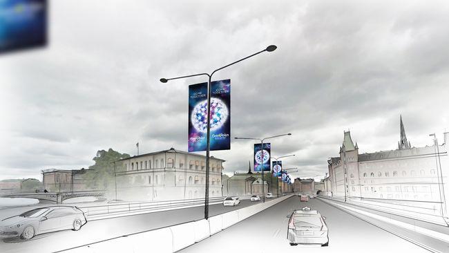 Inspirationsbild för årets tema för Eurovision Song Contest 2016.
