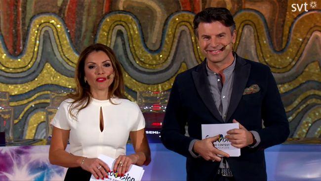 Alexandra Pascalidou och Jovan Radomir