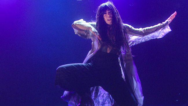"Loreen framför ""Euphoria"" i Melodifestivalen 2012."