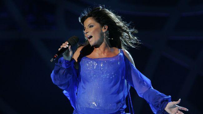 Carola i Melodifestivalen 2006.
