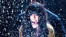 "Loreen med ""Euphoria"" i Melodifestivalen 2012 i Växjö. Hon vann Eurovision Song Contest i Baku, Azerbajdzjan."