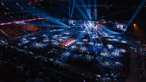 Friends Arena under Melodifestivalens final 2016