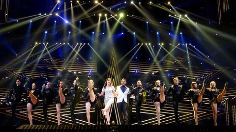 Story of Eurovision, Måns Zelmerlöw, Petra Mede, Oscarsnumret, Globen, Eurovision 2016, mellanakt