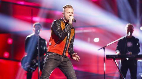 Nicky Byrne tävlar för Irland
