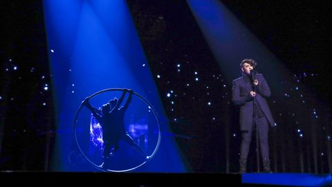 Se Hovis framträdande från semifinalen.
