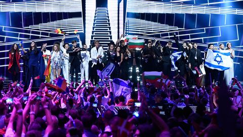 Finalister i den andra semifinalen i Eurovision 2016.