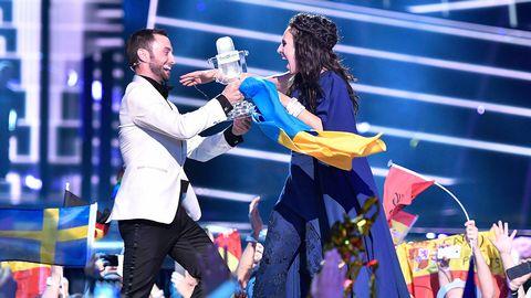 Måns Zelmerlöw och Jamala i Eurovision 2016
