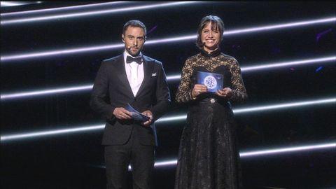 Måns Zelmerlöw och Petra Mede.