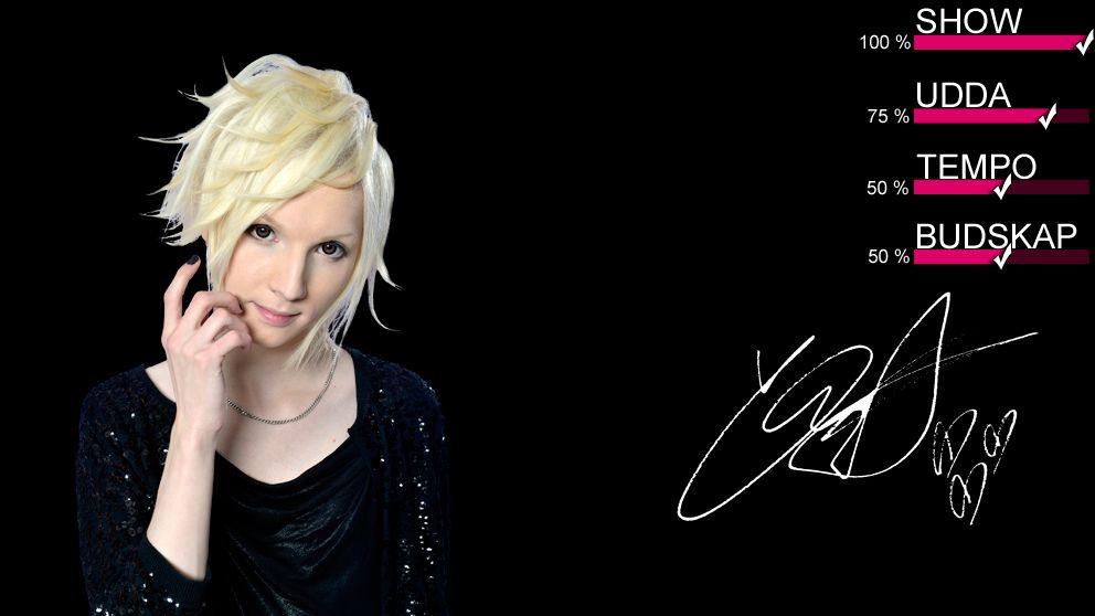 YOHIO gör debut i Melodifestivalen.