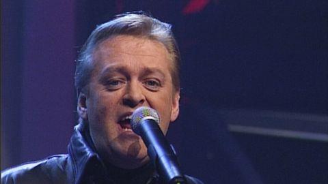 Bild på Nick Borgen från Melodifestivalen 1997.