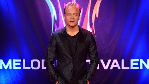 Andreas Weise tävlar i Melodifestivalen 2015.