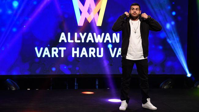 Allyawan Vill Vara Banbrytande I Melodifestivalen Med Hiphop Foto Tt