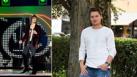 Jimmy Jansson som artist i Melodifestivalen 2007 vs 2015.