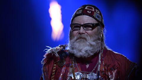 Bild på Roger Pontare i Melodifestivalen 2017.